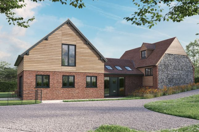 Thumbnail Detached house for sale in Off Shrewsbury Road, All Stretton