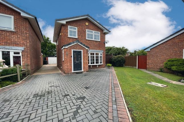 3 bed detached house for sale in Henbury Close, Middlewich CW10