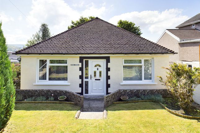 Thumbnail Bungalow for sale in Hill Crest, Brynmawr, Gwent