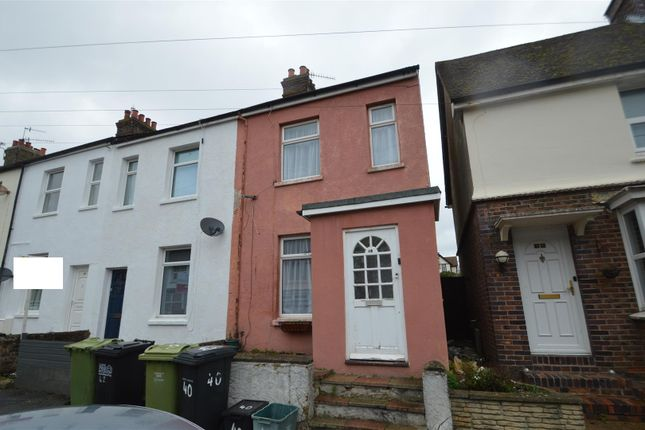 Thumbnail End terrace house for sale in Camperdown Street, Bexhill-On-Sea