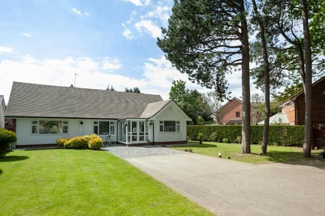 Thumbnail Bungalow for sale in Offerton Road, Hazel Grove, Stockport, Cheshire