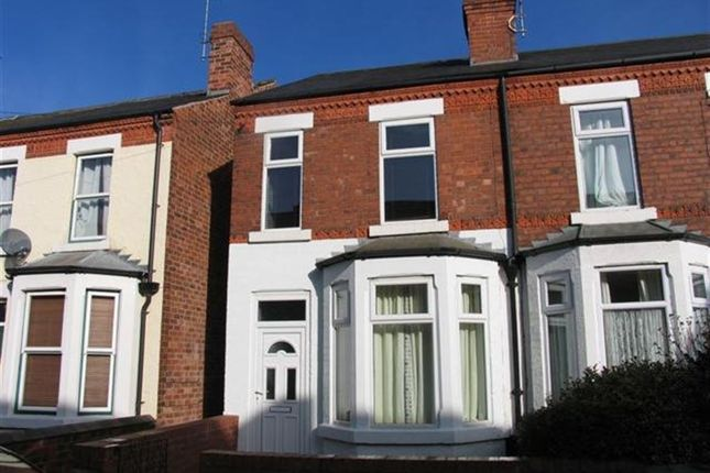 Thumbnail Semi-detached house to rent in Humber Road South, Beeston, Nottingham