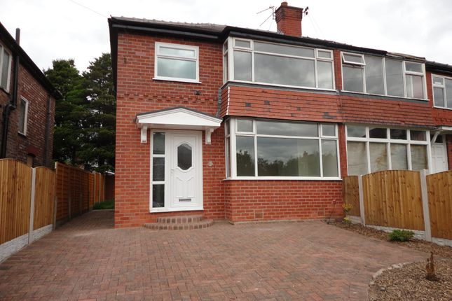 Thumbnail Semi-detached house to rent in Heys Road, Prestwich, Manchester