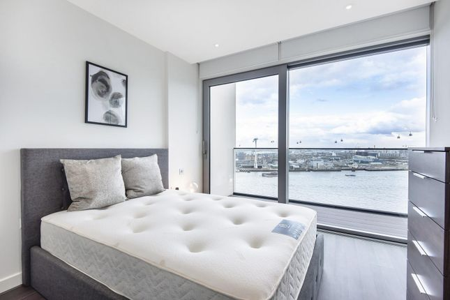 Bedroom of No. 2, Upper Riverside, Greenwich Peninsula, Cutter Lane SE10