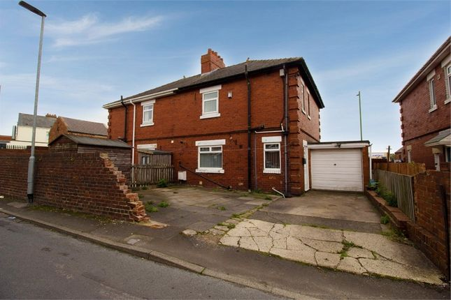 Thumbnail Semi-detached house for sale in South View, Annfield Plain, Stanley, Durham