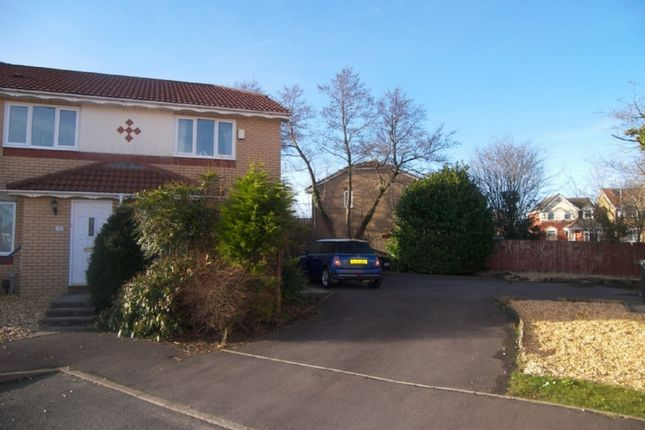 Thumbnail End terrace house to rent in Cae Derw, Bryncoch, Neath