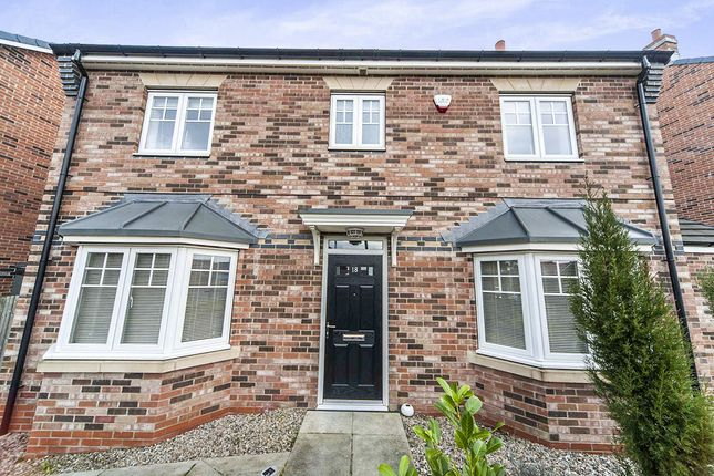 Thumbnail Detached house for sale in Crossways Court, Thornley, Durham
