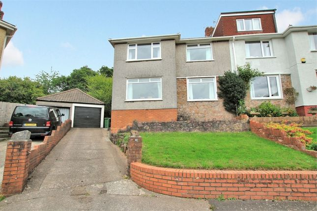 Thumbnail Semi-detached house for sale in Eskdale Close, Penylan, Cardiff