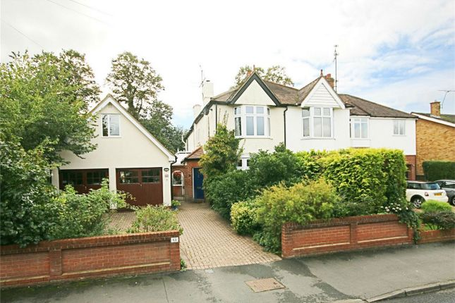 Thumbnail Semi-detached house for sale in Sheering Mill Lane, Sawbridgeworth, Herts