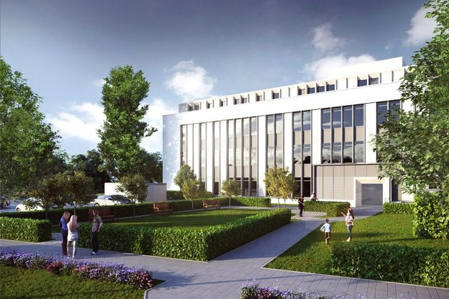 Thumbnail Flat for sale in Claygate House, Littleworth Road, Esher, Surrey