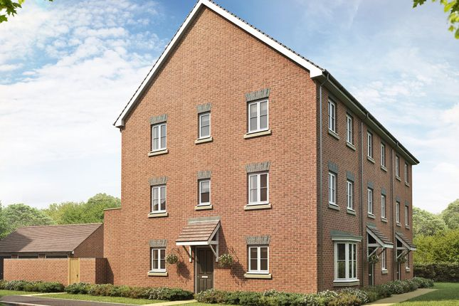 "Thumbnail End terrace house for sale in ""Durrington"" at Locksbridge Road, Picket Piece, Andover"