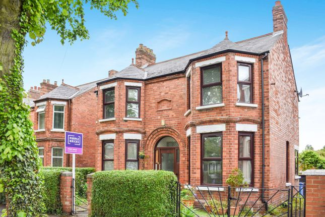 Thumbnail 4 bed detached house for sale in Cardigan Drive, Belfast
