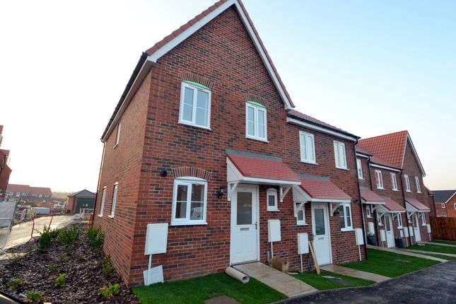 Thumbnail End terrace house for sale in Carsons Drive, Great Cornard, Sudbury