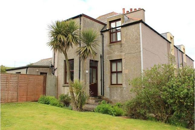 Thumbnail End terrace house for sale in East Custom House Longhope, Hoy Orkney