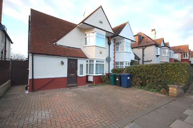 Thumbnail Semi-detached house to rent in Lyndhurst Gardens, Finchley, London