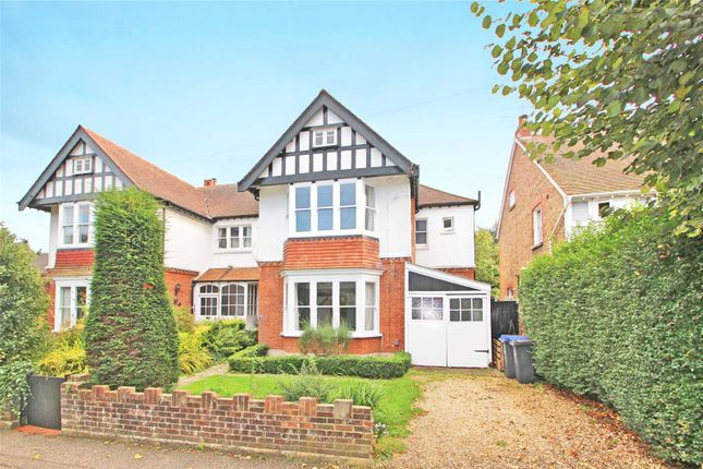 Thumbnail Semi-detached house for sale in Chaucer Road, Worthing, West Sussex