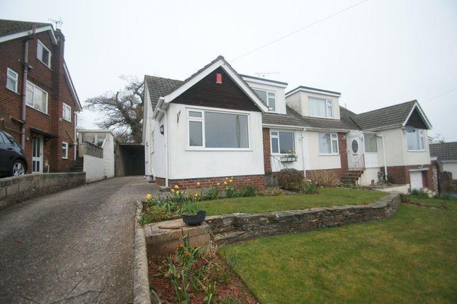 Thumbnail Semi-detached house to rent in Drake Avenue, Torquay
