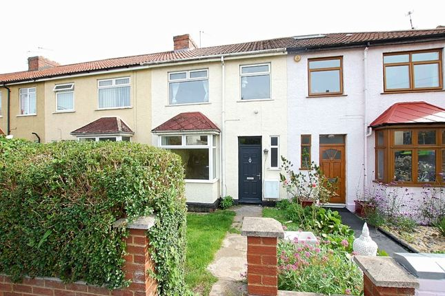 Thumbnail Terraced house to rent in Downend Road, Horfield, Bristol