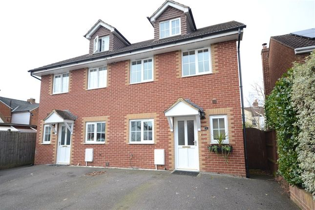 Thumbnail Semi-detached house for sale in Windsor Road, Farnborough, Hampshire