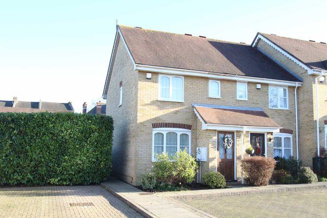 Thumbnail End terrace house to rent in Nursery Gardens, Chislehurst