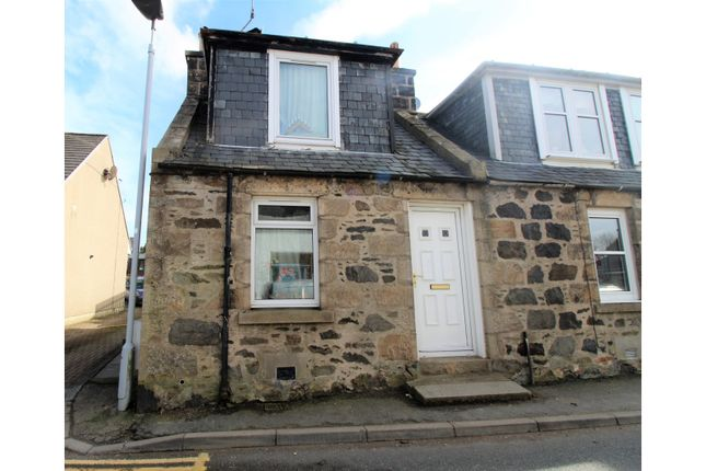 Thumbnail End terrace house for sale in Cowgate, Inverurie