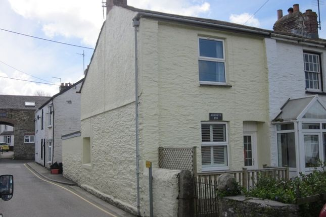 Thumbnail End terrace house for sale in Eddystone Terrace, Wadebridge, Cornwall