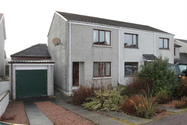 Thumbnail Semi-detached house for sale in Balnabeen Drive, Dingwall