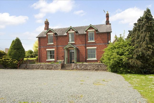 Thumbnail Detached house for sale in Four Crosses, Llandysilio, Llanymynech