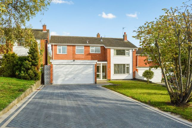 Thumbnail Detached house for sale in Severn Road, Oadby, Leicester