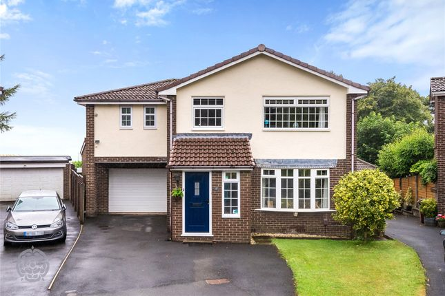 Thumbnail Detached house for sale in Ridgmont Close, Horwich, Bolton, Greater Manchester