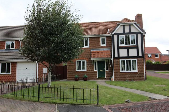 Thumbnail Detached house for sale in Ellerton Way, Hartford Green, Cramlington