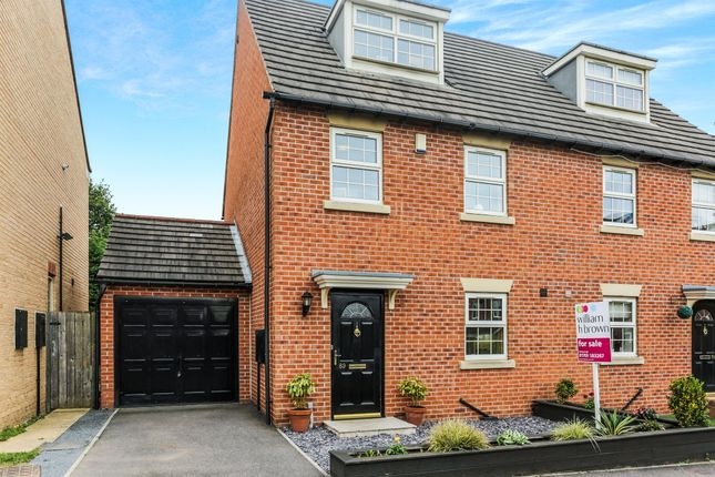 Semi-detached house for sale in Hawthorne Drive, Bolton-Upon-Dearne, Rotherham