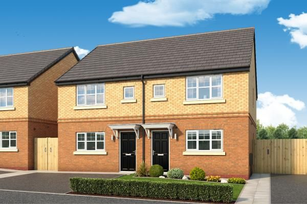 "Thumbnail Property for sale in ""The Laskill At The Woodlands "" at Newbury Road, Skelmersdale"