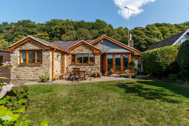 Thumbnail Detached bungalow for sale in North Wood Park, Kirkburton, Huddersfield