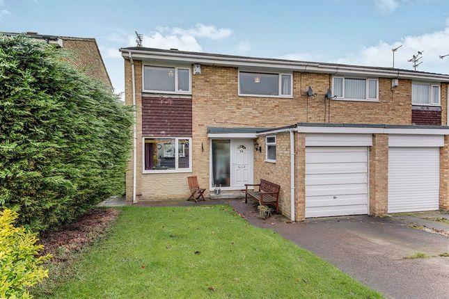 Thumbnail Semi-detached house for sale in Langdale Drive, Cramlington