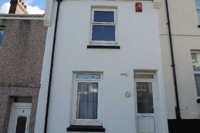 Thumbnail Terraced house to rent in Hornby Street, Plymouth
