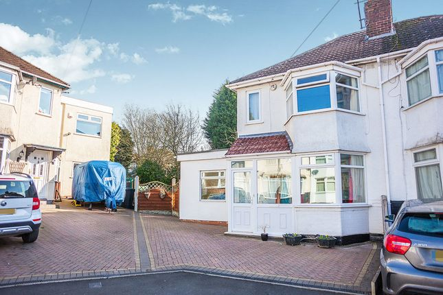Thumbnail Semi-detached house for sale in Rose Avenue, Oldbury
