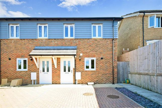 Thumbnail End terrace house for sale in Walter Tull Way, Folkestone, Kent