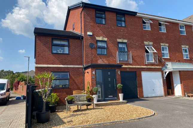 Thumbnail Town house for sale in Clos Mancheldowne, The Waterfront, Vale Glamorgan