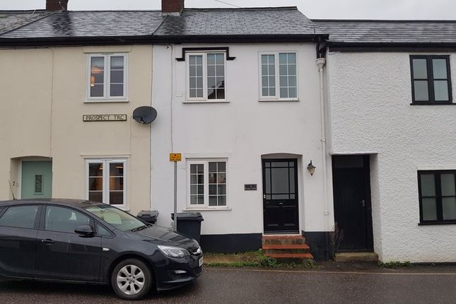 2 bed terraced house to rent in Prospect Terrace, Colyton EX24