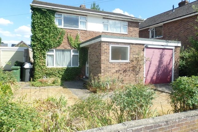 Thumbnail Detached house to rent in Mayfair Drive, Newbury