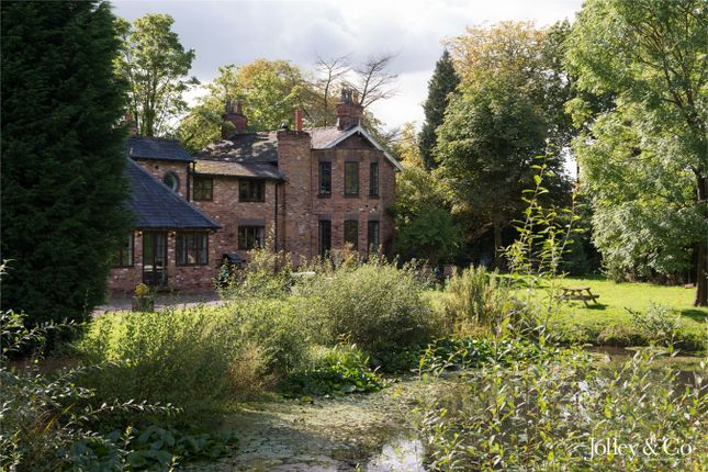 Thumbnail Detached house for sale in Newton Hall Lane, Mobberley, Cheshire