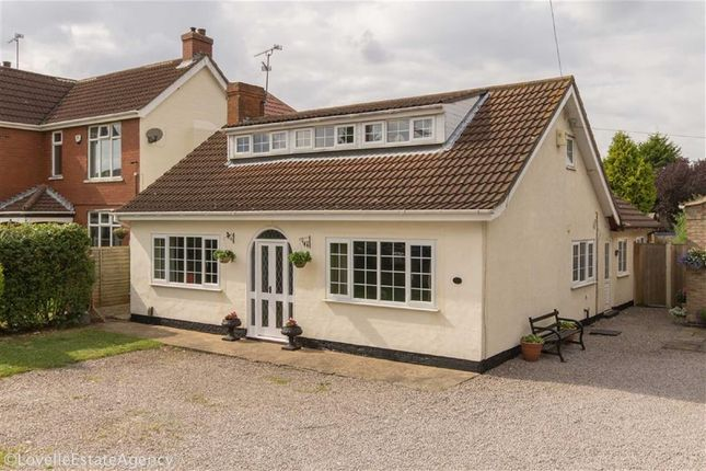 Thumbnail Bungalow for sale in Moorwell Road, Bottesford, Scunthorpe