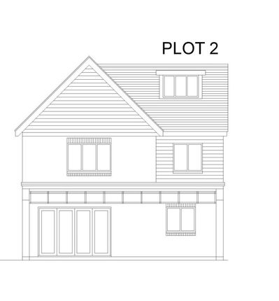 Plot 2 Rear Elevation