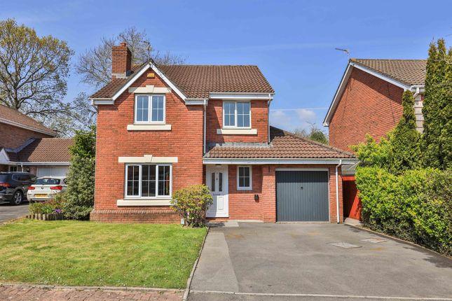 Thumbnail Detached house for sale in Liddell Close, Pontprennau, Cardiff