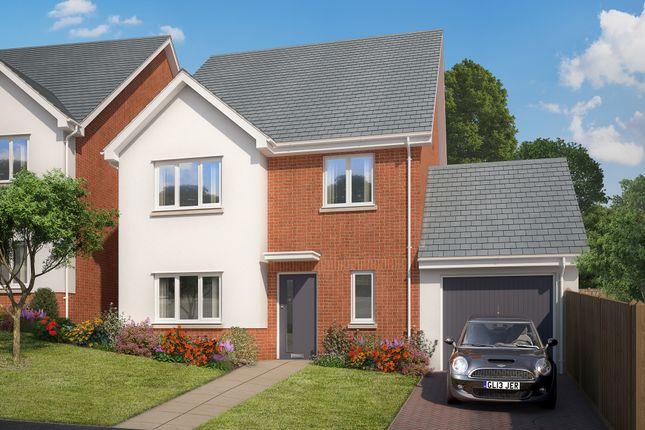 Thumbnail Link-detached house for sale in Teignmouth Road, Kingsteignton, Newton Abbot, Devon