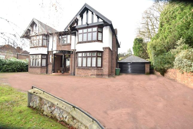 Thumbnail Detached house for sale in Sedgley Park Road, Prestwich, Manchester, Greater Manchester