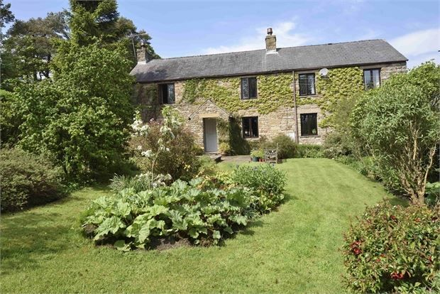 Thumbnail Farmhouse for sale in Bertram Hill Farm, Slaggyford, Cumbria.