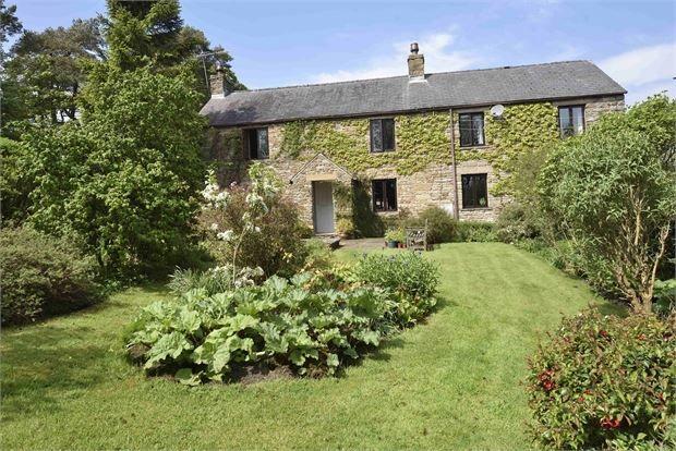 Thumbnail Farmhouse for sale in Bertram Hill Farm, Slaggyford, Cumbria.
