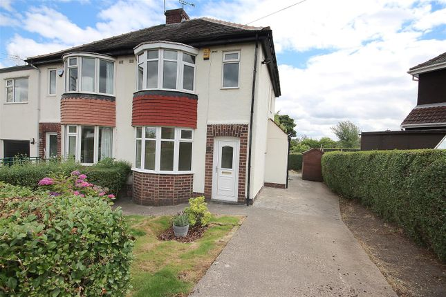 Thumbnail Semi-detached house to rent in Basegreen Crescent, Sheffield